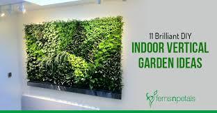 diy indoor vertical garden ideas
