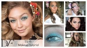 dvf spring summer 2016 makeup tutorial