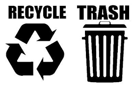 Recycle Trash Symbol Decals Sticker Logos For Home Office Choose Size Color 0 Ebay