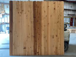 Western Red Cedar Fence Panels 5 8x6x8x8 Okc Fence Panel Builder