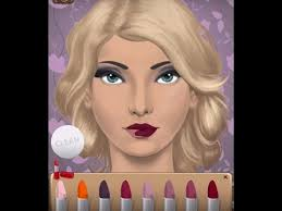 beauty salon makeup game