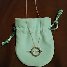tiffany co 1837 circle pendant