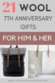 21 wool gifts to warm your 7th anniversary
