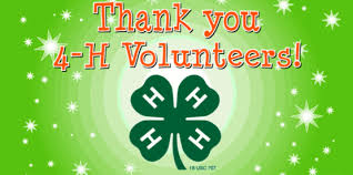 To All Henderson County 4-H Club Volunteers 2020 | North Carolina  Cooperative Extension