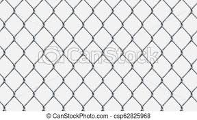 Seamless Realistic Chain Link Fence Background Vector Mesh Isolated On Transparent Background