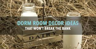 decorate your dorm room with milk bottles
