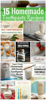 15 homemade toothpaste recipes simple