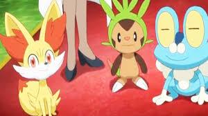Pokémon XY Episode 3 ポケットモンスターXY Review 3 Kalos Starters ...