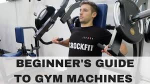 how to use gym machines upper body