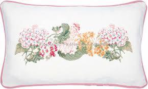 GreenGate Cushion Cover Adele White Pieceprinted 30 x 50 cm