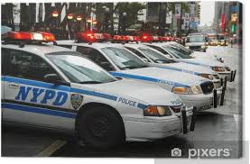 Nypd Police Cars Canvas Print Pixers We Live To Change