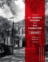 SJA Annual Report (2018-2019) by St. Joseph's Academy - issuu