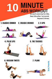 10 minute workouts for busy people who