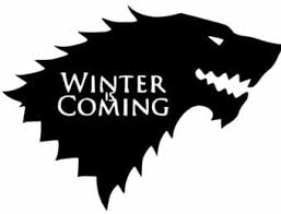 Amazon Com Keen Game Of Thrones Winter Is Coming Stark Vinyl Decal Sticker Cars Trucks Vans Walls Laptops Cups Black 5 5 In Kcd786 Automotive