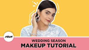 easy wedding guest makeup
