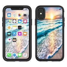 Skins Decals For Otterbox Defender Apple Iphone X 10 Sunset On Beach Itsaskin Com