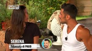 Temptation Island Vip, Serena Enardu chiude con Pago e va dal single