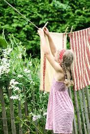 Pretty Tea Towels Hanging On Washing Buy Image 11064289 Living4media