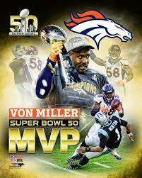 von miller super bowl 50 mvp portrait
