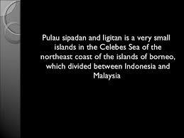 territorial disputes sipadan ligitan