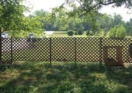 How To Install A Fence Super Fast With Minimal Effort Backyard Fences Lattice Fence Lattice Fence Panels
