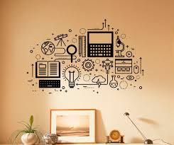 Computer Technology Wall Decal Vinyl Sticker Science Education Etsy In 2020 Vinyl Wall Decals Computer Technology Wall Decals