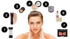 step by step procedure of makeup