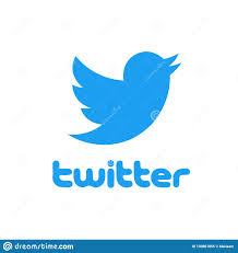 Twitter Logo With Bird Isolated Over White Background. Social Media And  Networking. Editorial Image - Illustration of networking, symbol: 130861855
