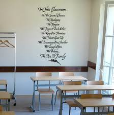 In This Classroom Wall Decal Trading Phrases