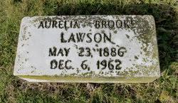 Aurelia Brooke Lawson (1886-1962) - Find A Grave Memorial
