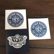 Yeti Other Stickers Poshmark