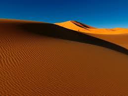 خلفية الصحراء الكثبان الرملية الرمال الظل التلال Hd عريضة