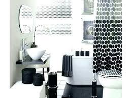 black and grey bathroom decor gray set
