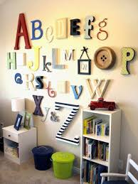 You And I Nursery Project Alphabet Wall Decor Kids Playroom Playroom