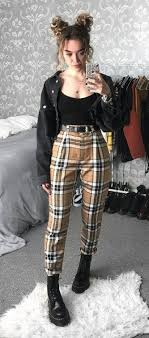 These women's fashions that look gorgeous.. 579165 #womensclothingideas |  90s fashion outfits, Edgy outfits, Aesthetic clothes