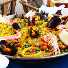 easy recipe for the tastiest seafood paella