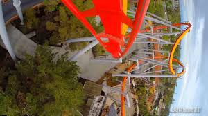 silver bullet roller coaster front