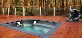 stainless steel spa hot tub luxury