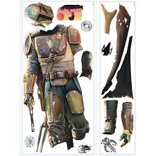 Star Wars The Mandalorian Giant Peel And Stick Wall Decal Roommates Target