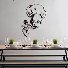 Modern Chef Trying Soup Wall Sticker Kitchen Dinning Room Chef Cooker Wall Decal Resturant Vinyl Decor Buy At The Price Of 7 67 In Aliexpress Com Imall Com
