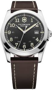 infantry brown leather strap 40mm