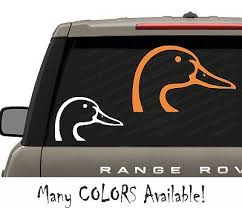 Duck Head Vinyl Decal For Car Truck Windows Sticker Browning Hunting Waterfowl 1 97 Picclick