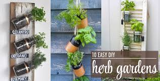10 easy diy herb gardens rachel hollis