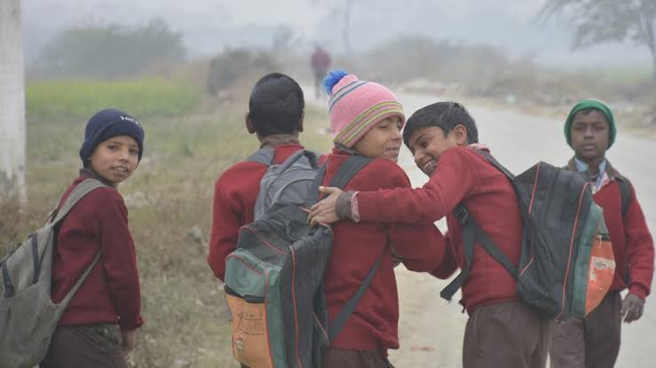 Image result for cold in school bihar