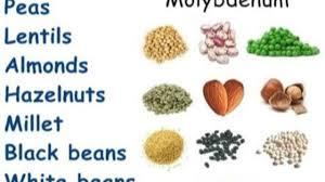 the many molybdenum health benefits