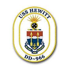 Us Navy Ship Uss Hewitt Dd 966 Decal Sticker 5 5 Walmart Com Walmart Com