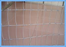 High Tensile Welded Wire Fence Panels Galvanized 1 5m Hinge Joint For Sheep Goat