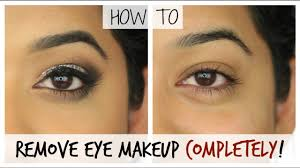 how to remove your eye makeup properly