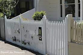 Letterbox Picket Fence Fence Outdoor