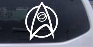 Star Trek Science Insignia Logo Car Or Truck Window Decal Sticker Rad Dezigns